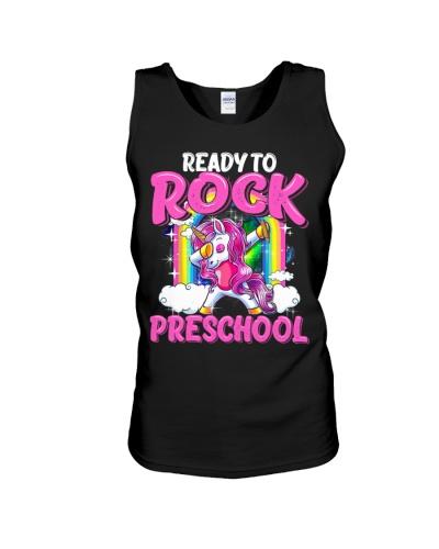 Ready To Rock Preschool Dabbing Unicorn