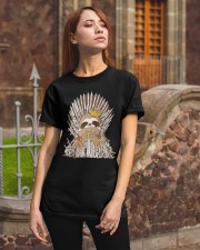 Winter Sloth Classic T-Shirt apparel-classic-tshirt-lifestyle-06