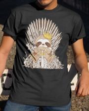 Winter Sloth Classic T-Shirt apparel-classic-tshirt-lifestyle-28