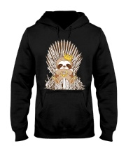 Winter Sloth Hooded Sweatshirt thumbnail