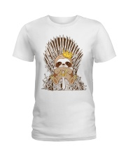 Winter Sloth Ladies T-Shirt thumbnail