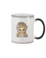 Winter Sloth Color Changing Mug thumbnail