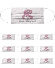 Breast Cancer 17 Cloth Face Mask - 10 Pack front