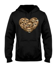 Sloth Heart Hooded Sweatshirt thumbnail