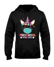 Quarantine Unicorn Preschool Hooded Sweatshirt thumbnail