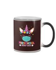 Quarantine Unicorn Preschool Color Changing Mug thumbnail