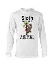 Sloth is my spirit animal Long Sleeve Tee thumbnail