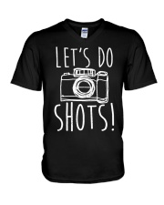 Lets Do Shots V-Neck T-Shirt thumbnail