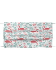 Flamingo 25 Cloth face mask front