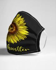 Hair Hustler Sunflower Cloth face mask aos-face-mask-lifestyle-21