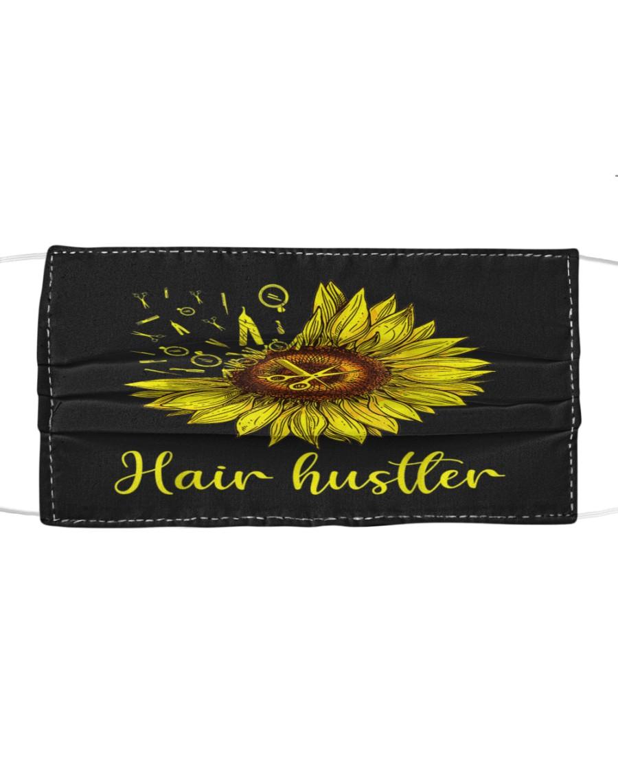 Hair Hustler Sunflower Cloth face mask