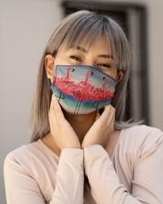 Flamingo 2 Cloth face mask aos-face-mask-lifestyle-17