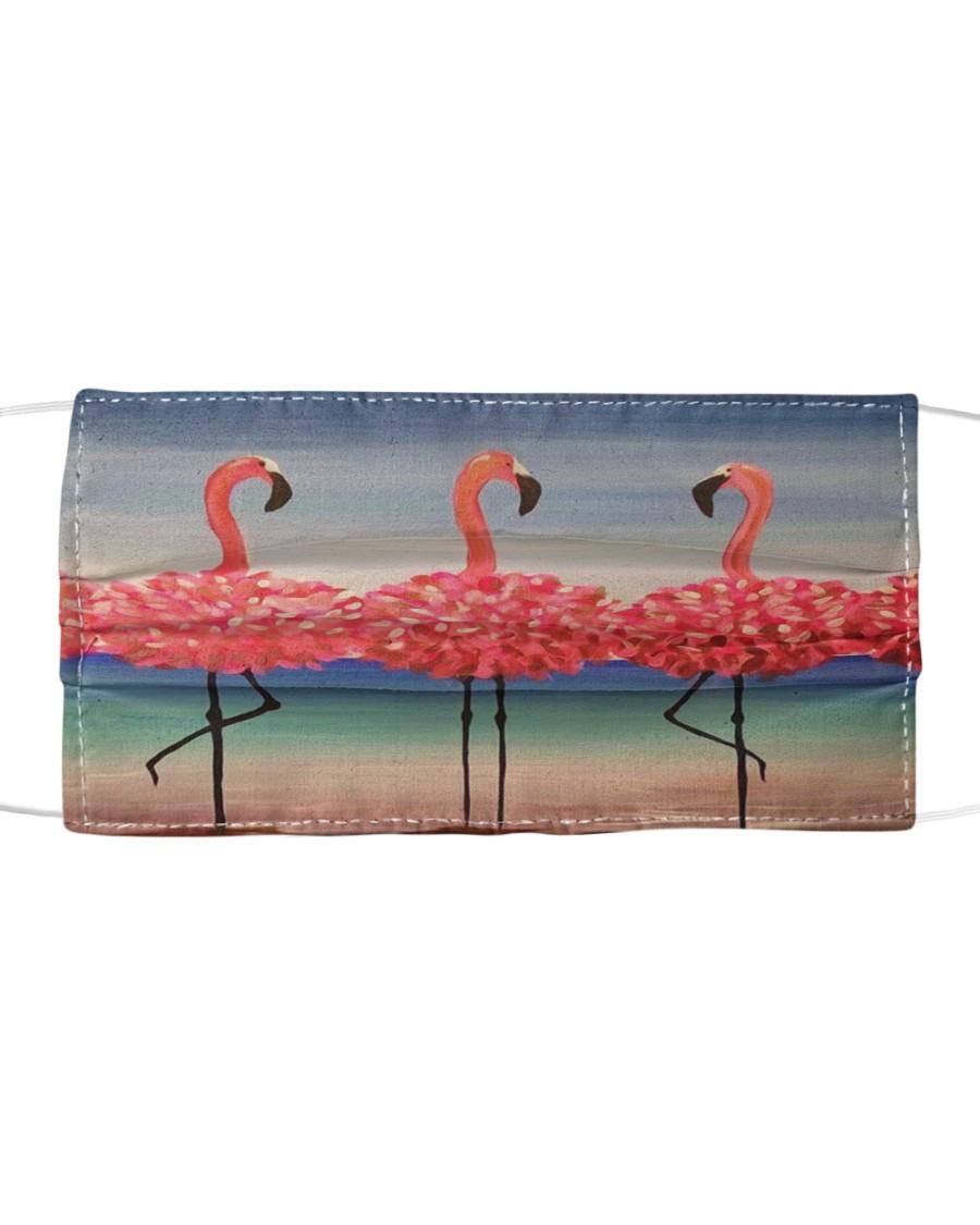 Flamingo 2 Cloth face mask