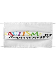 Autism 17 Cloth face mask front
