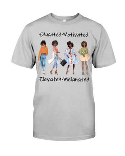 Educated Motivated Black Queen Melanin