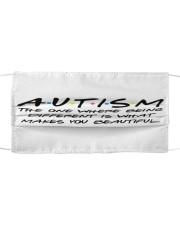 Autism 09 Cloth face mask front
