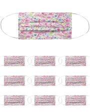 Breast Cancer 08 Cloth Face Mask - 10 Pack front