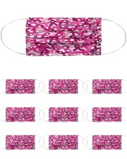 Breast Cancer 06 Cloth Face Mask - 10 Pack front