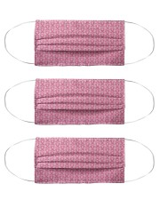 Breast Cancer 02 Cloth Face Mask - 3 Pack front