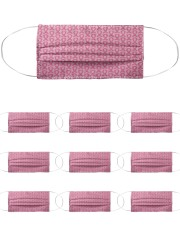 Breast Cancer 02 Cloth Face Mask - 10 Pack front
