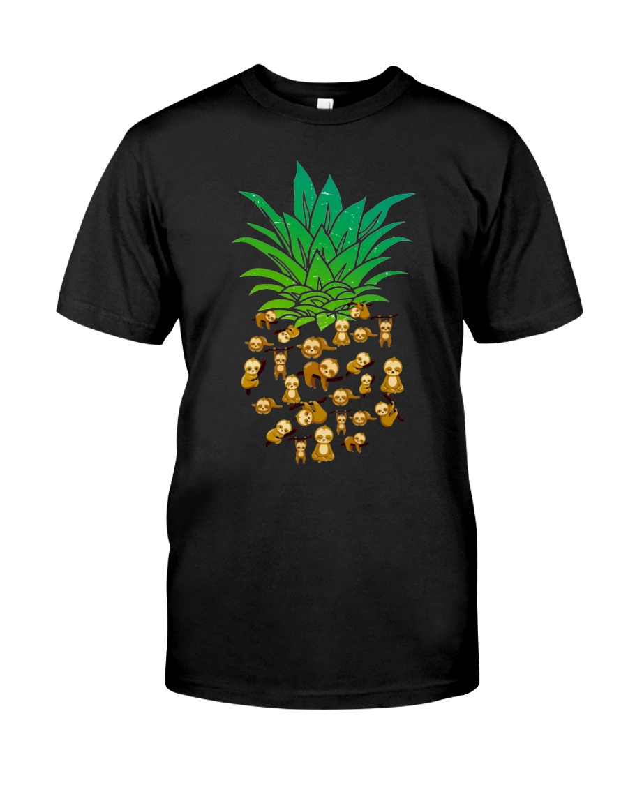Sloth Pineapple Classic T-Shirt