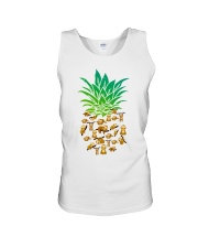 Sloth Pineapple Unisex Tank thumbnail
