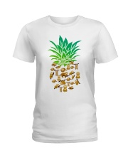 Sloth Pineapple Ladies T-Shirt thumbnail