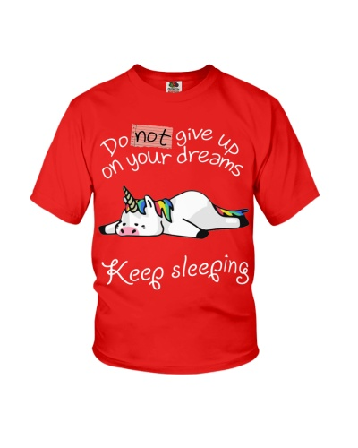 Unicorn-Do Not Give Up On Your Dreams