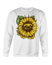 Sloth Sunflower Crewneck Sweatshirt tile