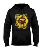 Sloth Sunflower Hooded Sweatshirt tile