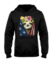 Sloth American Hooded Sweatshirt tile