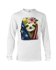 Sloth American Long Sleeve Tee tile