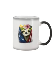 Sloth American Color Changing Mug tile