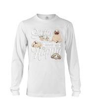 Sloth Make Me Happy Long Sleeve Tee thumbnail
