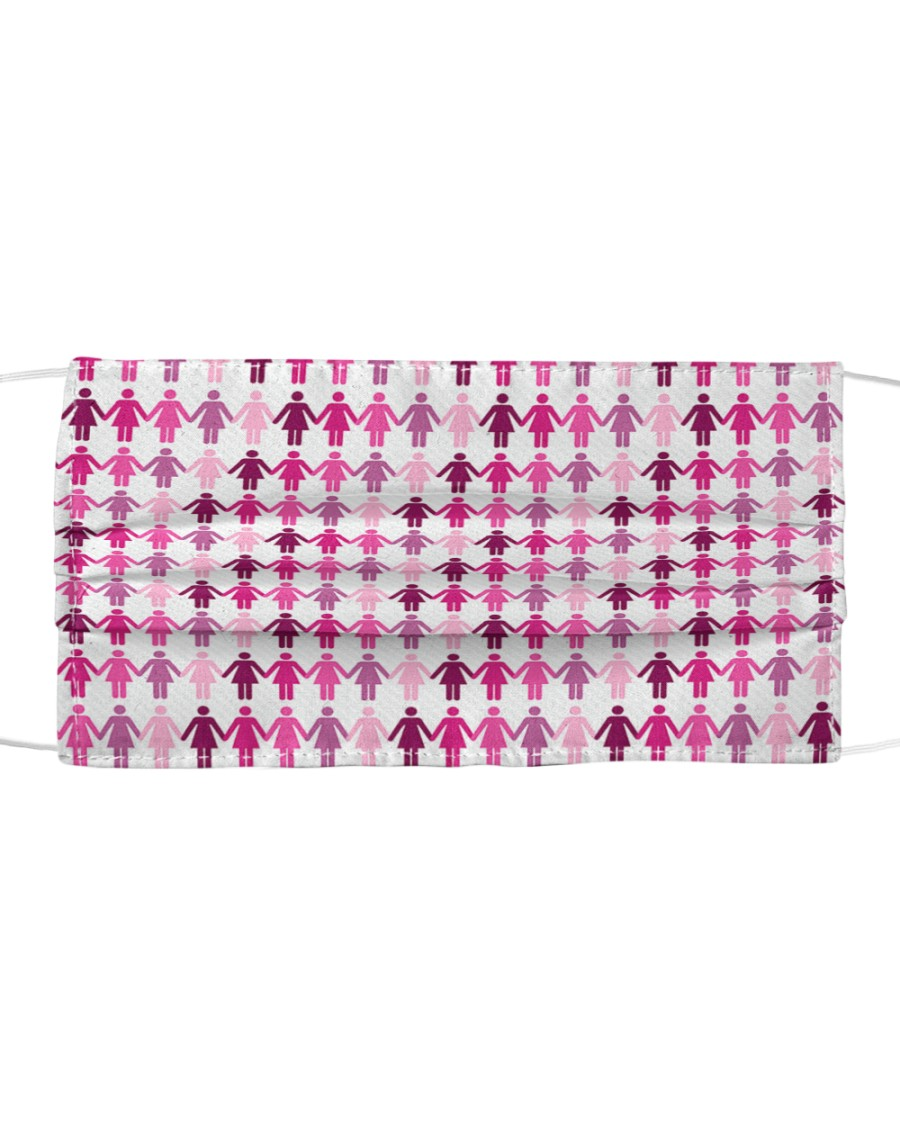 Breast Cancer 12 Cloth face mask