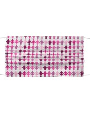Breast Cancer 12 Cloth face mask front