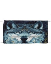 Wolf Cloth face mask front