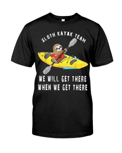 Sloth Paddling Kayak Team