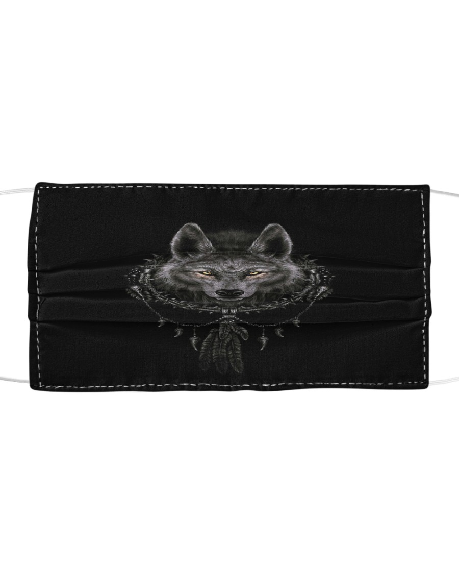 Wolf 5 Cloth face mask