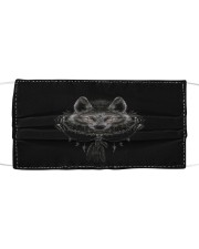 Wolf 5 Cloth face mask front