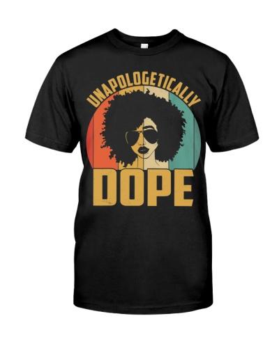 Unapologetically Dope Black Pride Melanin