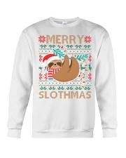 xmas sloth Crewneck Sweatshirt thumbnail