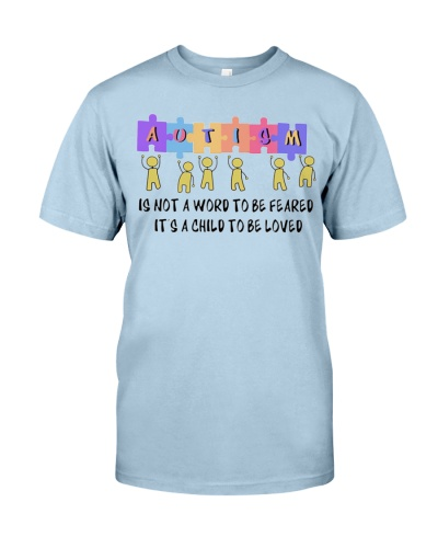 Autism Is Not A Word To Be Feared