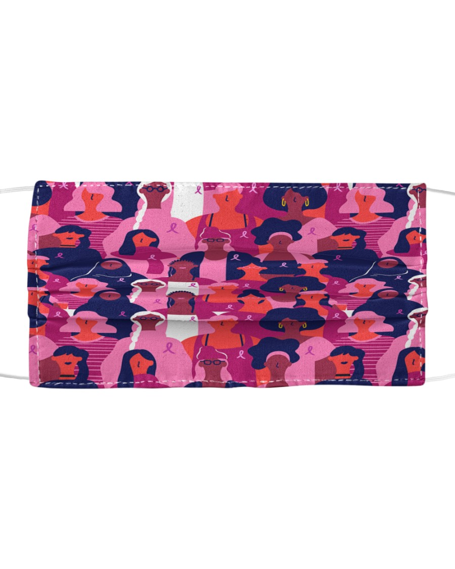Breast Cancer 16 Cloth face mask