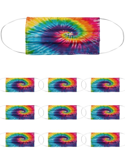 Colorful Rainbow Tie Dyeing Hip Hop