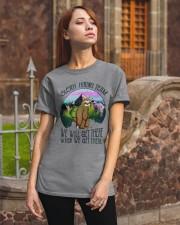 Sloth Hiking Team Classic T-Shirt apparel-classic-tshirt-lifestyle-06