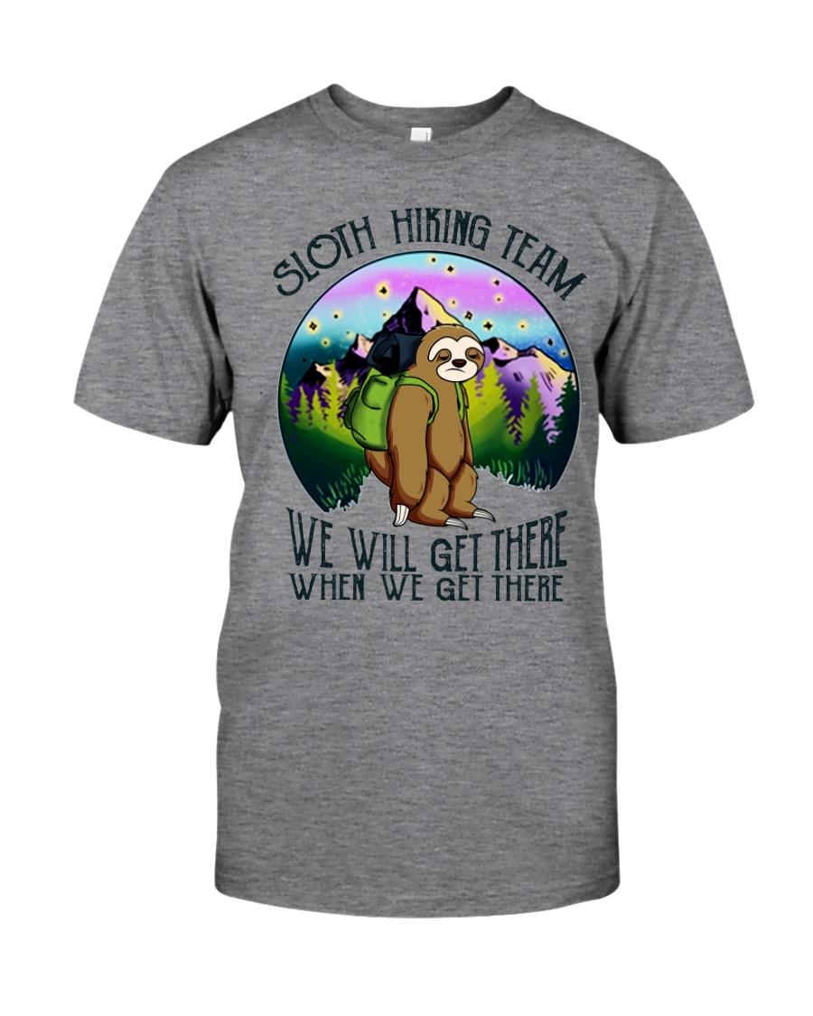 Sloth Hiking Team Classic T-Shirt