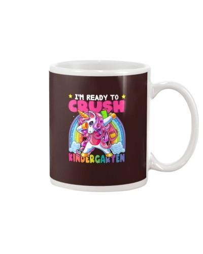 Crush Kindergarten Dabbing Unicorn