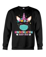 Quarantine Unicorn Kindergarten Crewneck Sweatshirt thumbnail