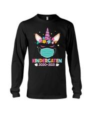 Quarantine Unicorn Kindergarten Long Sleeve Tee thumbnail